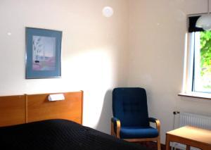 Et opholdsområde på Hotel Kong Valdemar