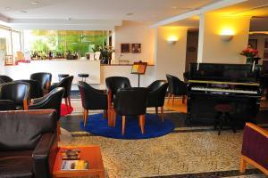 A área de bar ou lounge em Estalagem do Vale