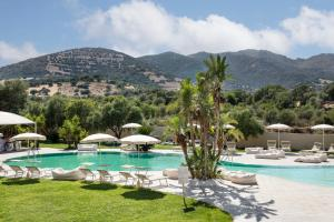 The swimming pool at or near Hotel San Teodoro