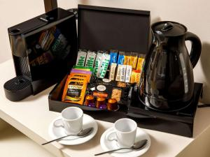 Coffee and tea-making facilities at Mercure Hull Grange Park Hotel