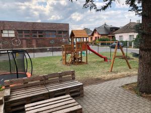 Children's play area at Penzión Squash