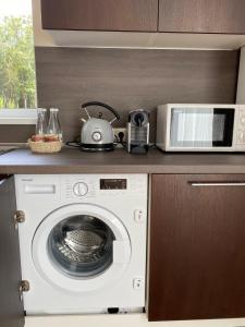 Кухня или мини-кухня в Residence Hotel & Spa
