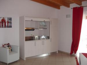 A kitchen or kitchenette at Residence Candeloro