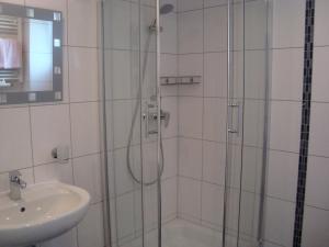 Ванная комната в Hotel Gartenhof