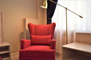 A seating area at Boutique Hotel 7 Elephants