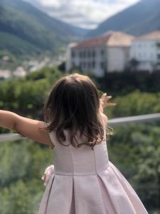 As crianças hospedadas em Hotel da Vila
