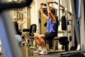The fitness center and/or fitness facilities at Leonardo Edinburgh Murrayfield