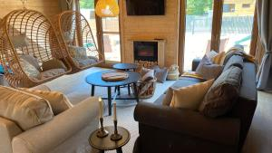 Część wypoczynkowa w obiekcie Bug Wie Gdzie - Komfortowe domy wypoczynkowe