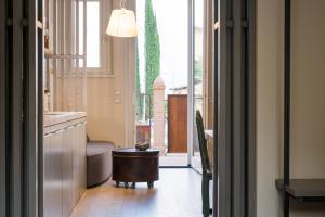Area soggiorno di Winery home -Montecorneo 570-