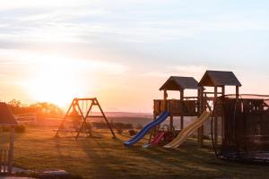 Children's play area at Cheveldon