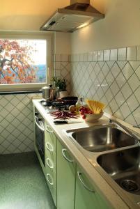 Cucina o angolo cottura di Hotel Villa Rizzo Resort and Spa