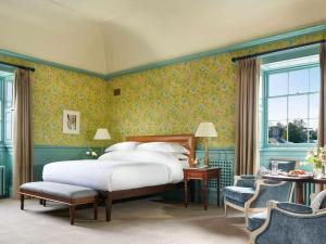 A bed or beds in a room at Carton House A Fairmont Managed hotel