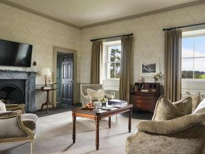 A seating area at Carton House A Fairmont Managed hotel