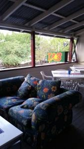 A seating area at Joes Waterhole Hotel