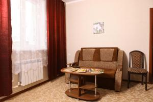 Гостиная зона в Гостиница Аэлита