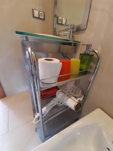 Ett badrum på Ole Málaga
