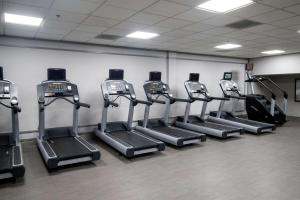 The fitness center and/or fitness facilities at Wyndham Houston near NRG Park - Medical Center