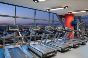 The fitness center and/or fitness facilities at Hilton Bursa Convention Center & Spa
