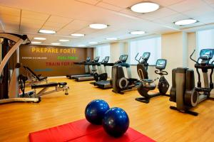 The fitness centre and/or fitness facilities at Sheraton Brooklyn New York