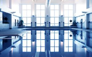 The swimming pool at or near Village Hotel Hull