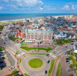 Vue panoramique sur l'établissement Van der Valk Palace Hotel Noordwijk