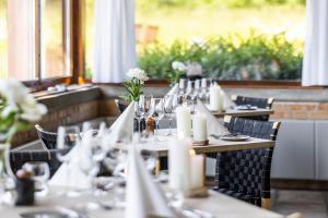 En restaurant eller et andet spisested på Comwell Klarskovgaard