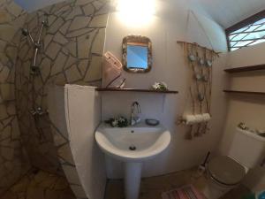 Um banheiro em Poe Guesthouse