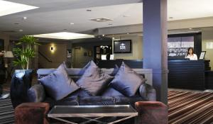 The lobby or reception area at Village Hotel Swansea
