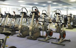 The fitness center and/or fitness facilities at Village Hotel Swansea