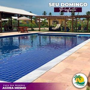 The swimming pool at or close to Pousada Vila do Coco - Milagres AL
