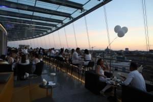 A restaurant or other place to eat at Hotel Dei Cavalieri Milano Duomo