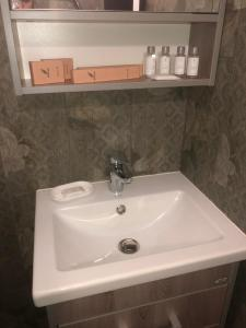 Ванная комната в База отдыха Зазерки