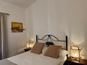 Cama o camas de una habitación en Quinta dos Amarelos