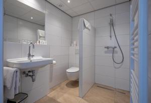 Salle de bains dans l'établissement Hotel de Branding