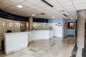 The lobby or reception area at Sercotel Hotel Palacio del Mar