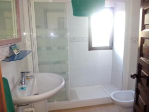 Ett badrum på El Capistrano