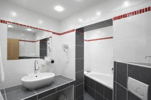 Ein Badezimmer in der Unterkunft Ringhotel Posthotel Usseln