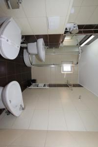 A bathroom at Hotel Liliacul