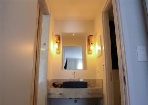 Um banheiro em Hotel do Bosque ECO Resort