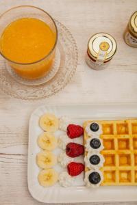 Cibo presso il bed & breakfast o nelle vicinanze