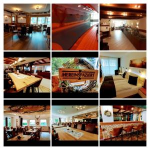 A restaurant or other place to eat at Hotel Haus am Stein