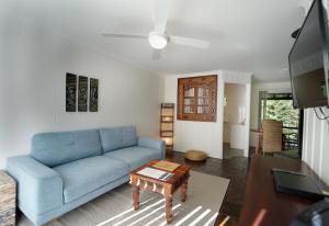 A seating area at Kondalilla Eco Resort