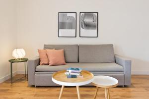 Zona de estar de Olala Urban Chill Apartments