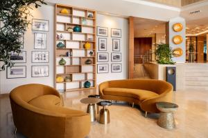 De lobby of receptie bij Arrecife Gran Hotel & Spa