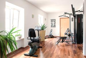 The fitness center and/or fitness facilities at Palais Hotel Erzherzog Johann