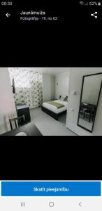 Naktsmītnes Jaunāmuiža Apartamenti telpu plāns
