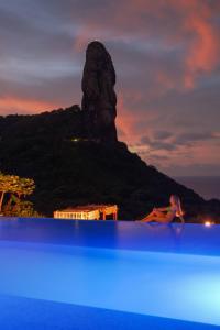 A piscina localizada em Pousada Morena ou nos arredores