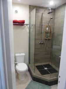 Um banheiro em Pied à terre du front de mer