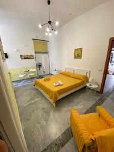 A bed or beds in a room at le ginestre in centro