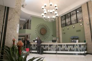 The lobby or reception area at Alven Palace Hotel